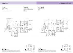 4-Bedroom & 4-Bedroom Dual-Key Types