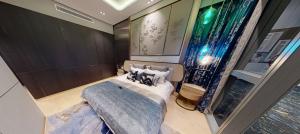 JadeScape condominium showflat five-bedroom master bedroom