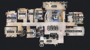 JadeScape condominium showflat five-bedroom overview