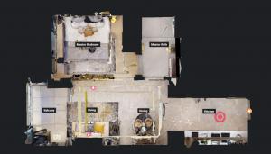 JadeScape condominium showflat one-bedroom overview