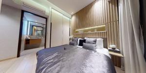 JadeScape condominium showflat two-bedroom master bedroom