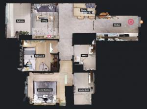 JadeScape condominium showflat two-bedroom overview