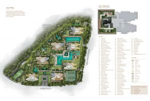JadeScape condominium site plan