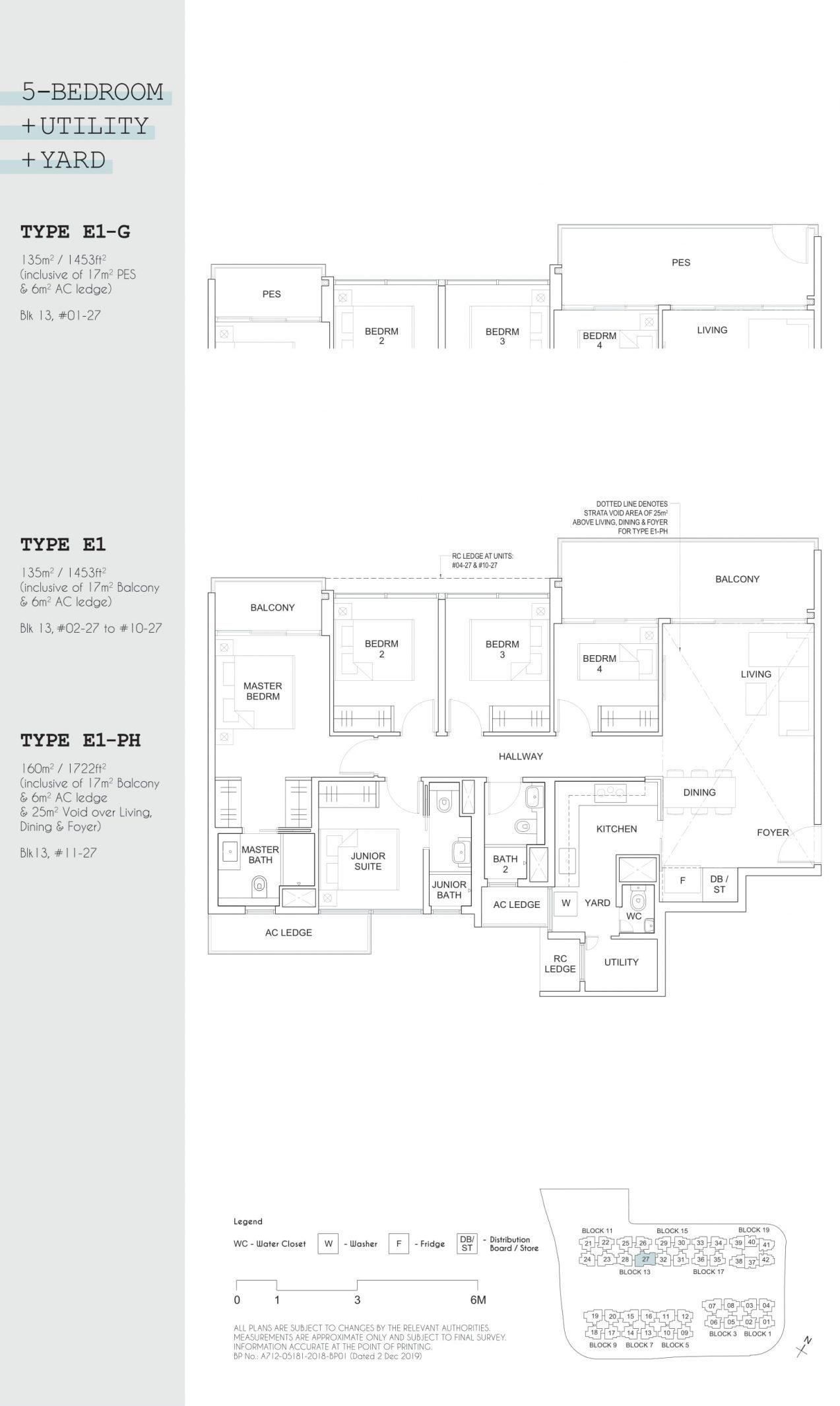 Parc Canberra EC's five-bedroom + utility + yard types