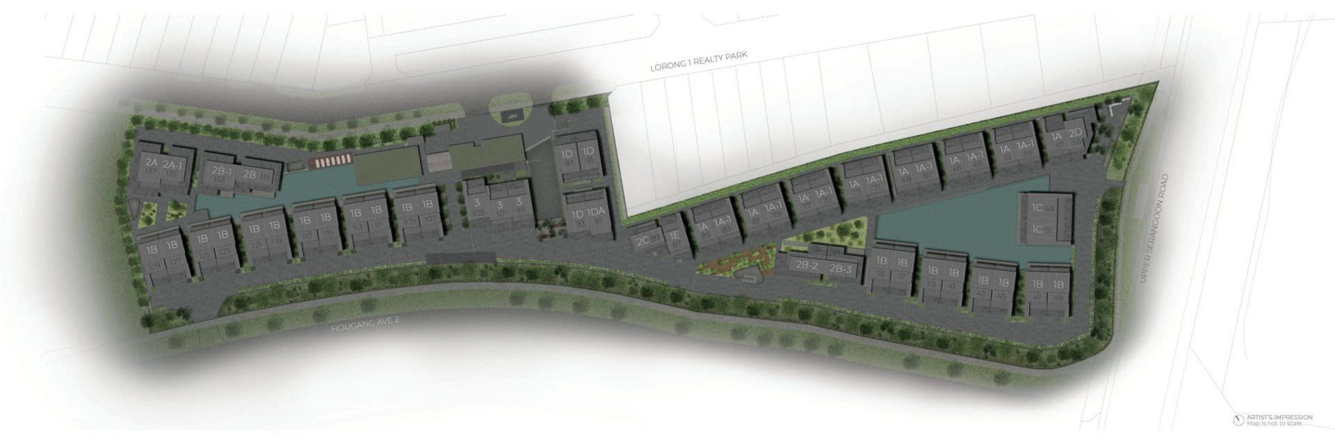 Parkwood Collection Site Plan