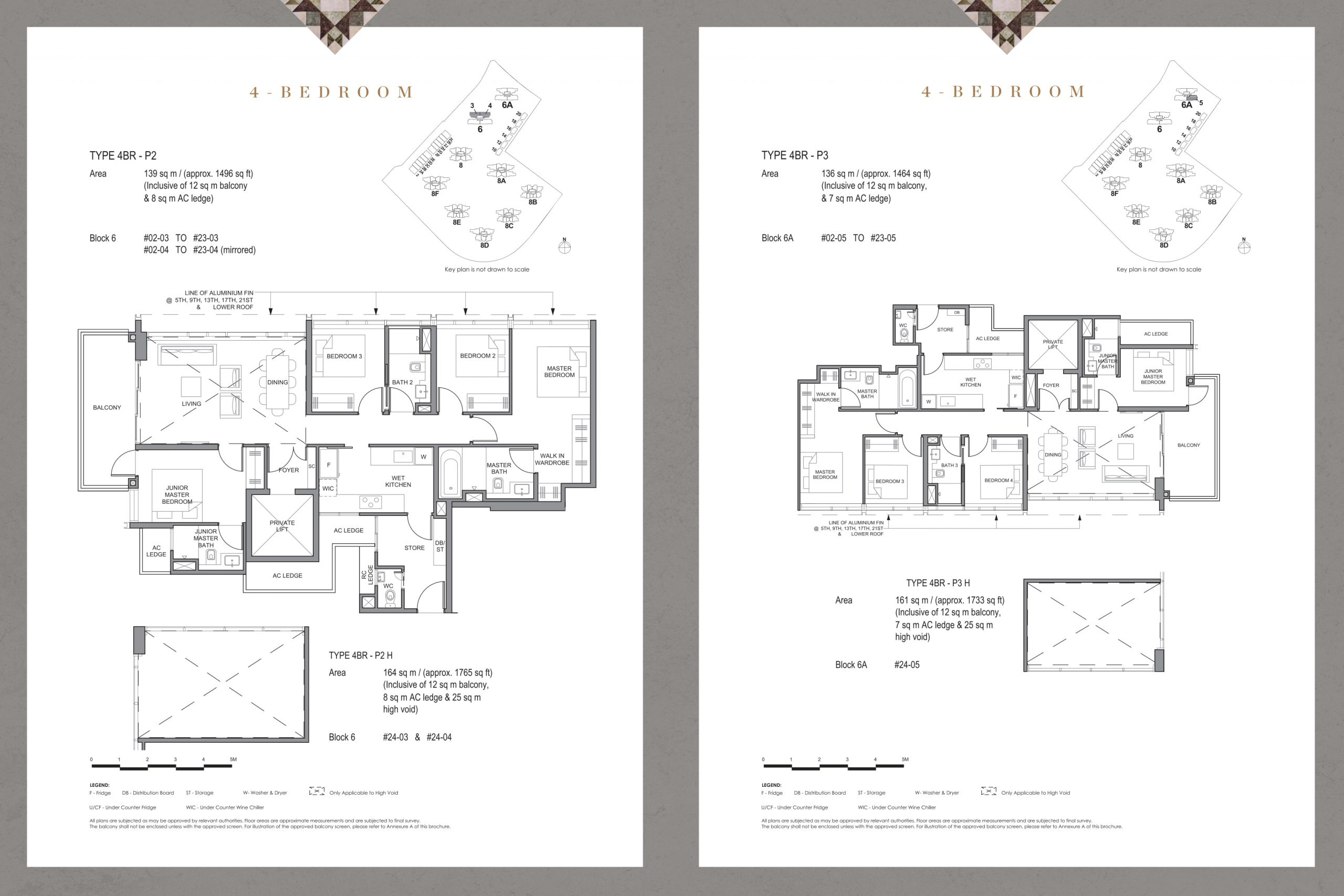 Parc Clematis' signature four-bedroom types