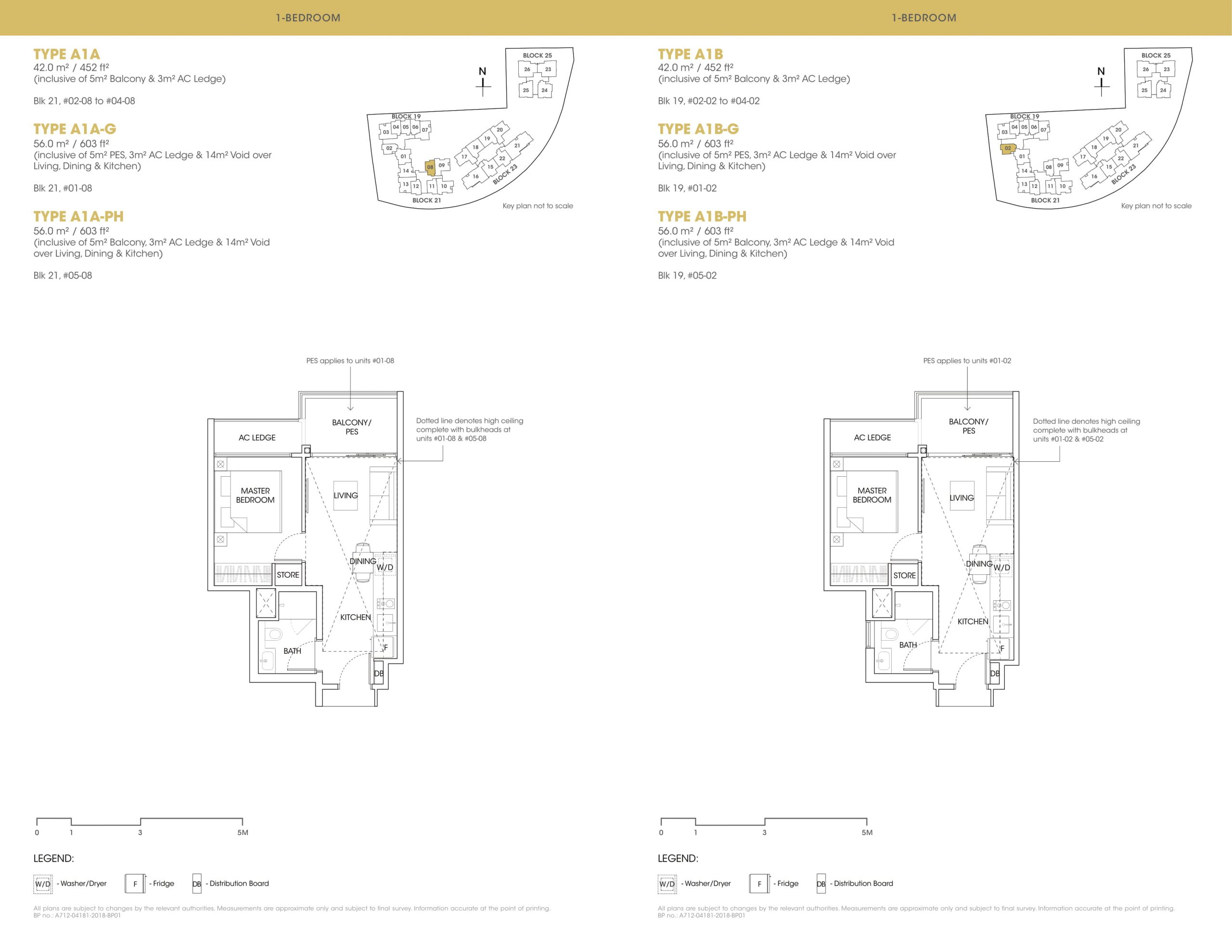 The Antares one-bedroom floor plan