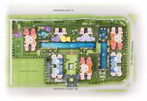 The Tapestry at Tampines site plan