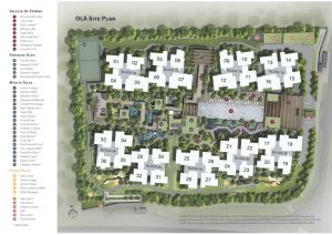 Ola EC's site plan and facilities