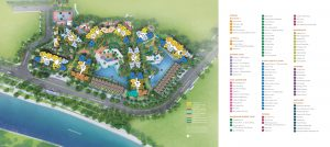 The Riverfront Residences' site plan